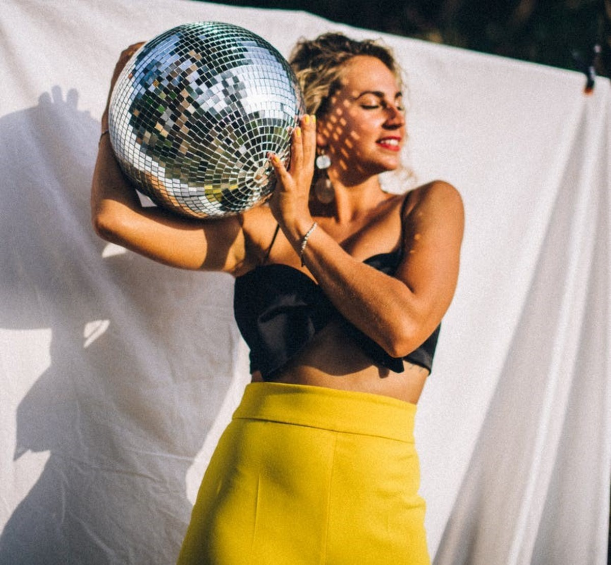 Anna Tarazevich Disco Ball