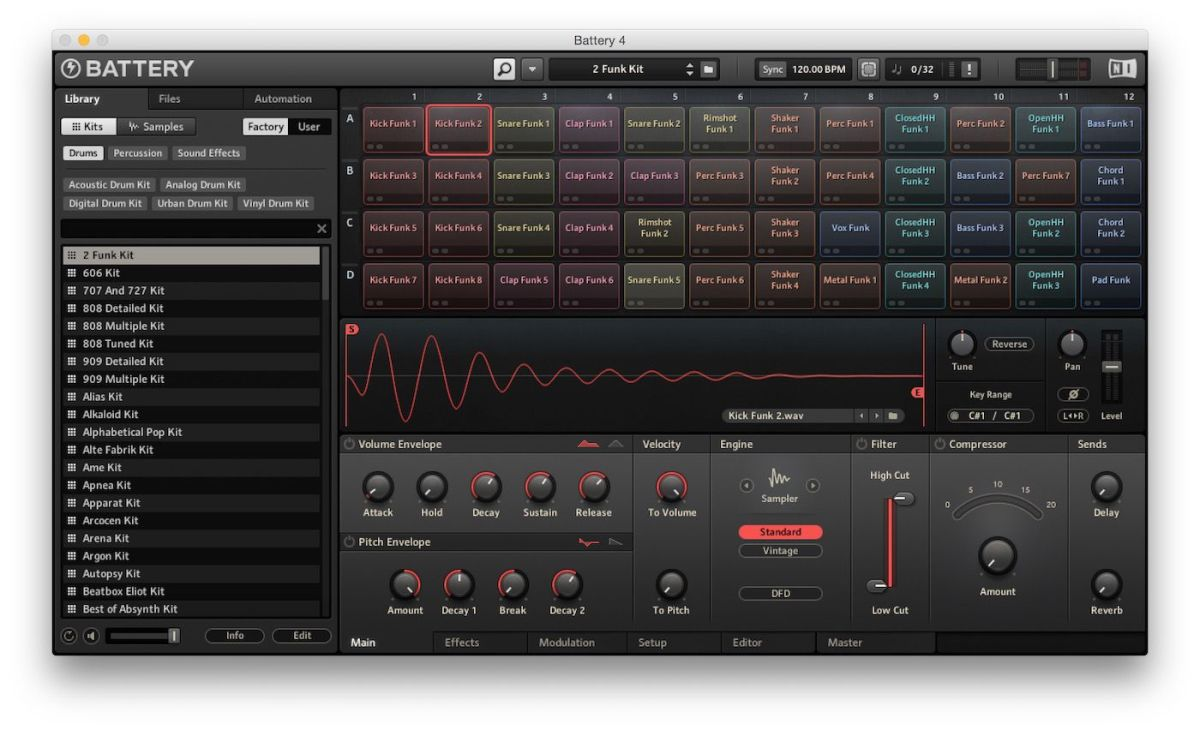 Battery plugin by Native Instruments