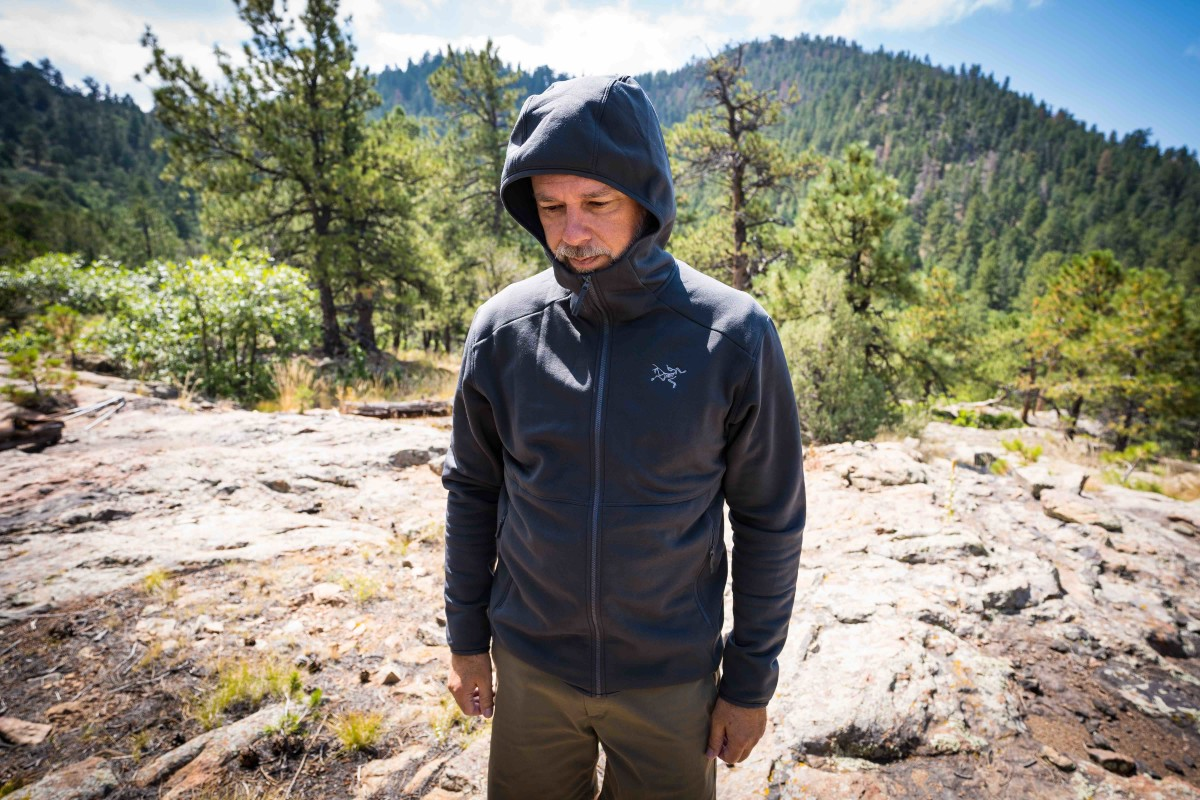 Kynate AR Hoody - Photo by Laura Ireland at Project Basscamp, Colorado