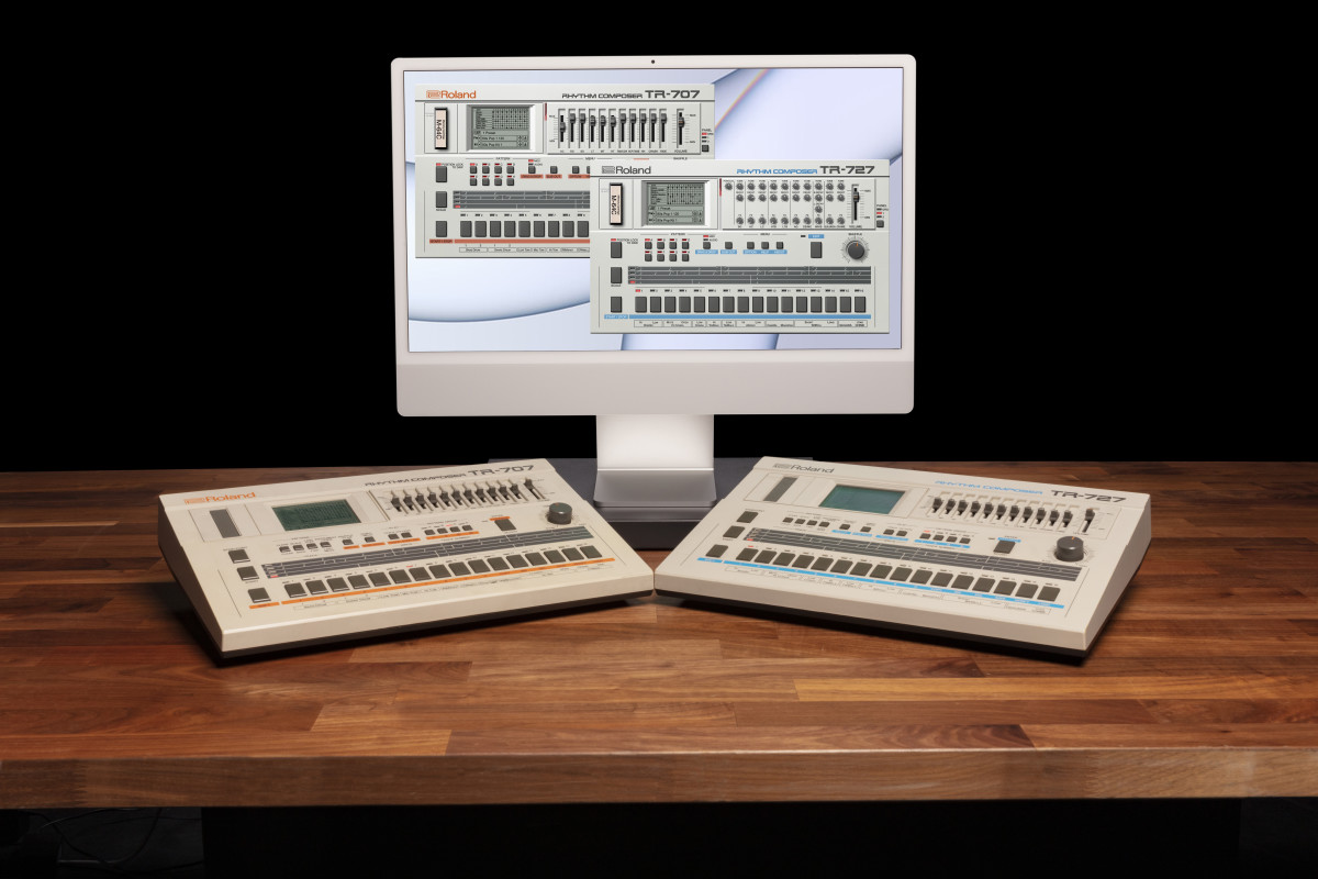 Roland Cloud TR-707 and TR-727